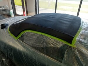 Impregnacja dachu cabrio