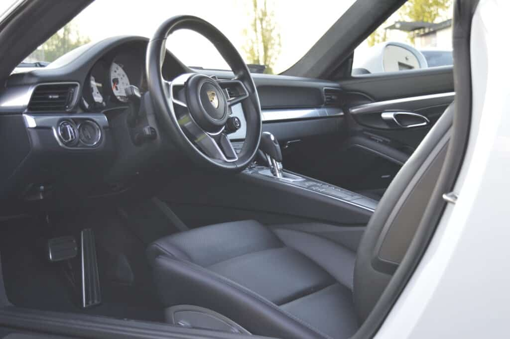 Detailing wnętrza samochodu
